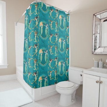 lauriekentdesigns Mermaid Folly Shower Curtain