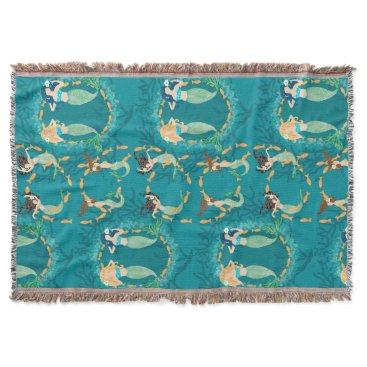 lauriekentdesigns Mermaid Folly Throw