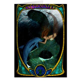 Mermaid & Friend Greeting Card