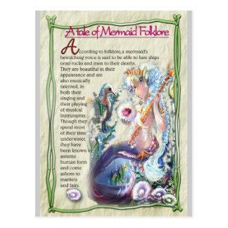 Mermaid fun-facts Postcard
