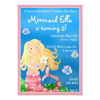 Mermaid Garden Invitation