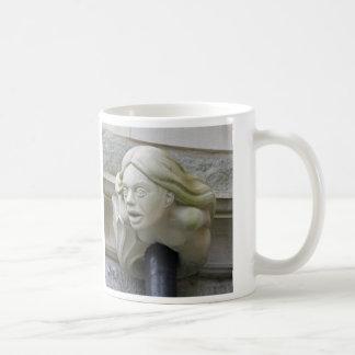 Mermaid gargoyle mug