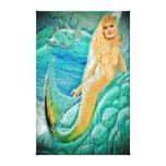 Mermaid Goddess Atargatis Gallery Wrap Canvas
