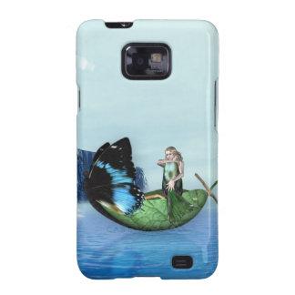 Mermaid Gondola Samsung Galaxy SII Cover