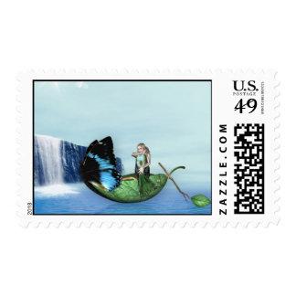 Mermaid Gondola Stamps
