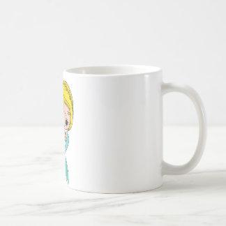 Mermaid Graphic (Blue) Coffee Mug