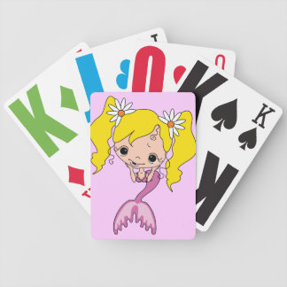 Mermaid Graphic Playing Cards