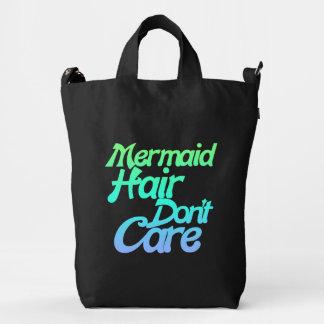 Mermaid hair don't care duck bag