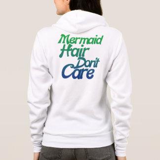 Mermaid hair don't care hoodie