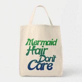 Mermaid hair don't care tote bag