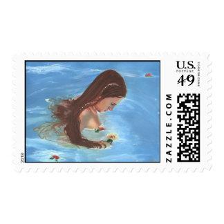 Mermaid Heaven Postage