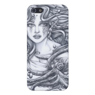 Mermaid & Her Octopus Case For iPhone SE/5/5s