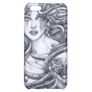 Mermaid & Her Octopus iPhone 5C Cover
