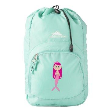 Ocean Themed Mermaid High Sierra Backpack