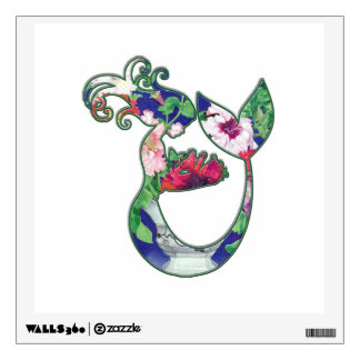 Mermaid Holding Baby - Secret Realm Under the Sea Wall Decal