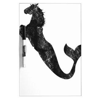 Mermaid Horse Dry Erase White Board