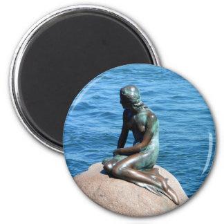 Mermaid in Denmark Magnet