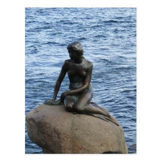 Mermaid in Denmark Postcard