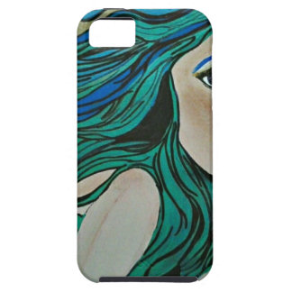Mermaid in green and blue iPhone 5 covers
