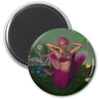 Mermaid in Sea Magnet