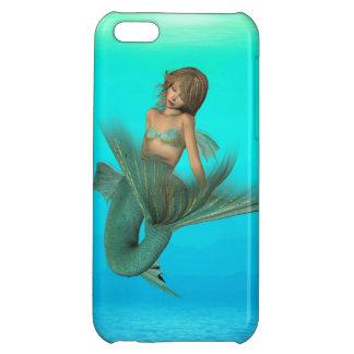 Mermaid in the Deep Blue Sea iPhone 5C Case