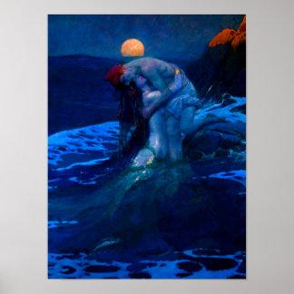 Mermaid In The Moonlight 2 Poster