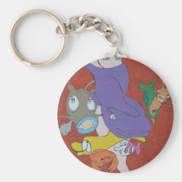 Mermaid In Tomato Soup Keychain