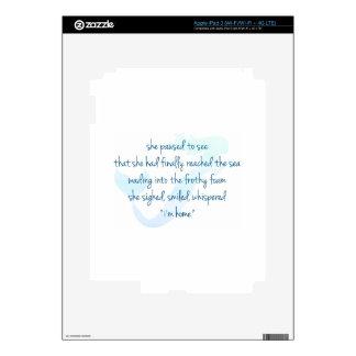 Mermaid iPad 3 Decal