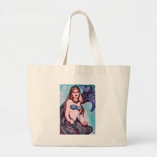 Mermaid Jenet CricketDiane Art & Design Tote Bag