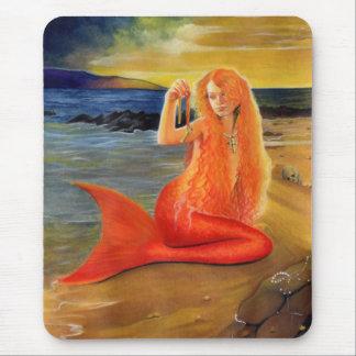 Mermaid Key Sunset Mousepad