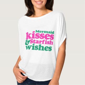 Mermaid kisses and starfish wishes T-Shirt