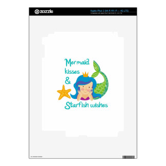 Mermaid Kisses iPad 3 Decals