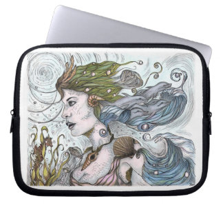 Mermaid Lap Top  Electronic Sleeve cover Computer Sleeve