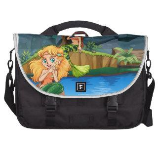 Mermaid Laptop Commuter Bag