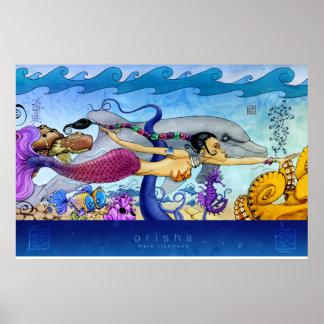 Mermaid Large Print