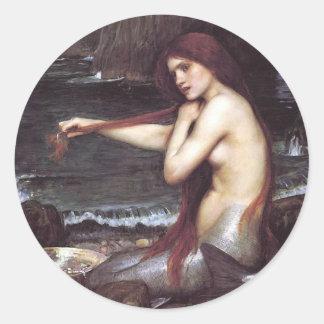 Mermaid Large Sticker
