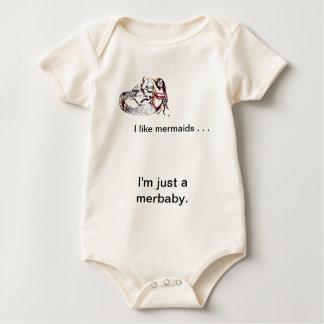 Mermaid Laurel - Mermaid School -  CricketDiane Baby Bodysuit