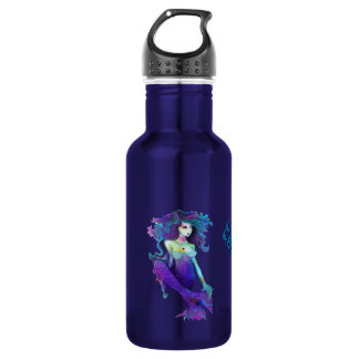 Mermaid Liberty Bottleworks Aluminum Stainless Steel Water Bottle