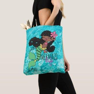 Mermaid Life B Tote Bag