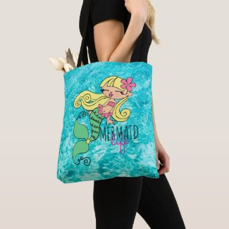 Mermaid Life BL Tote Bag
