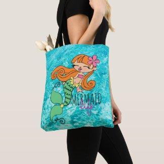 Mermaid Life RH Tote Bag