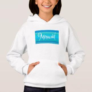 Mermaid little girls sweatshirt