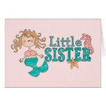 Mermaid Little Sister Cards