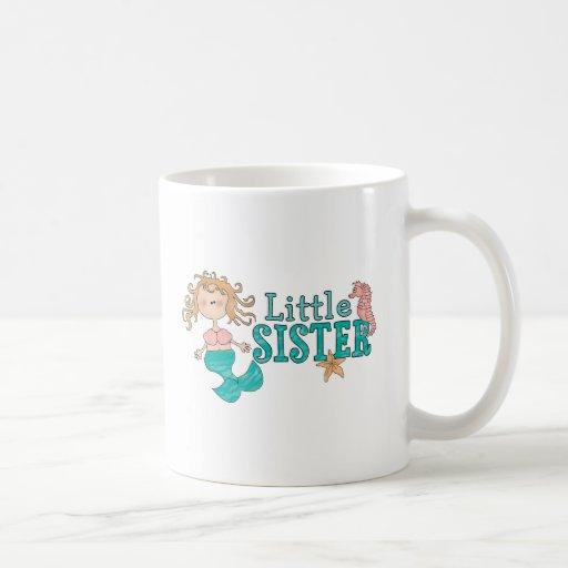 Mermaid Little Sister Mugs