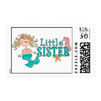 Mermaid Little Sister Postage