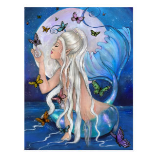 """Mermaid Magic"" postcard"