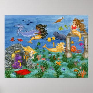 Mermaid Magic Poster