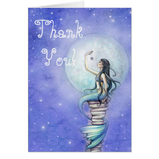 Mermaid Magic Thank You Card