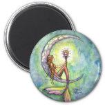 Mermaid Magnet, Mermaid Moon by Molly Harrison