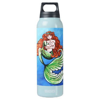 Mermaid Mama Thermal Half Liter Insulated Water Bottle